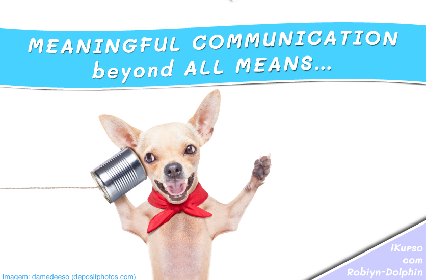 meaningful communication beyond all means